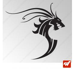 Sticker Dragon Tribal 11