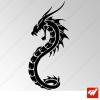 Sticker Dragon Tribal 12
