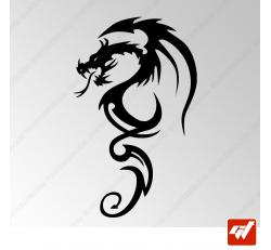 Sticker Dragon Tribal 14