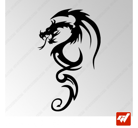 Sticker Dragon Tribal 14