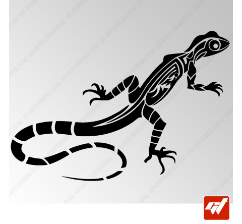 Sticker Salamandre Tribal 3