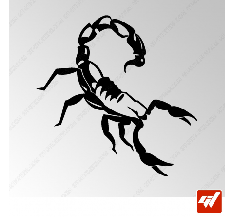 Sticker Scorpion Tribal 2