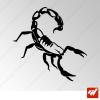 Sticker Scorpion Tribal 2