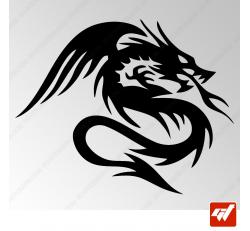 Sticker Dragon Tribal 15