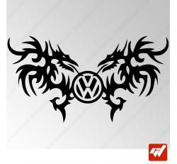 Sticker Dragons Tribal Volkswagen 16