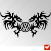 Sticker Dragons Tribal Volkswagen 16