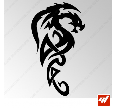 Sticker Dragon Tribal 17