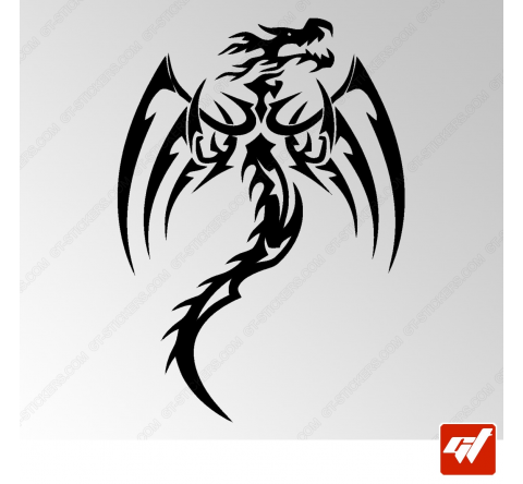 Sticker Dragon Tribal 18