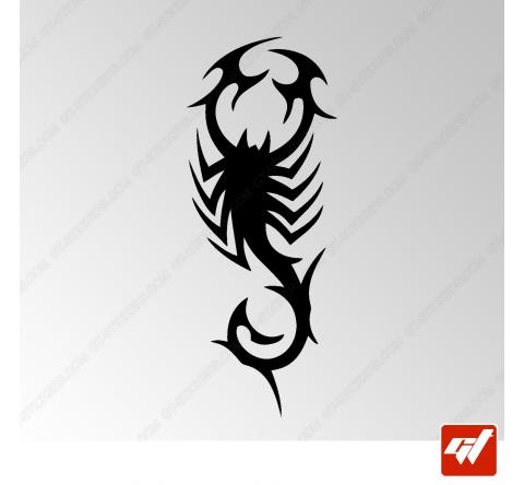 Sticker Scorpion Tribal 3