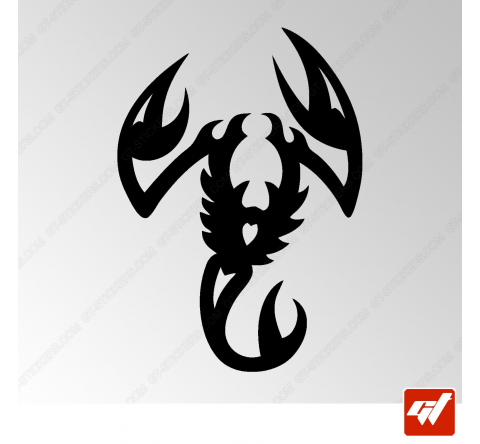 Sticker Scorpion Tribal 4