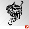 Sticker Tigre Tribal