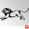 Sticker Lion Tribal 4