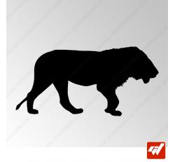 Sticker Lion Tribal 5