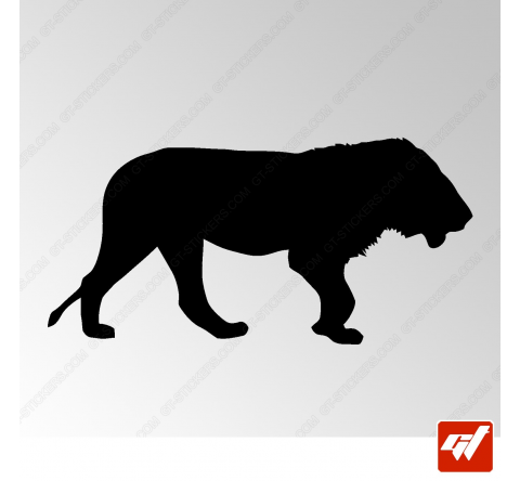 Sticker Lion Tribal 5