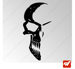 Sticker Crane Tribal 2