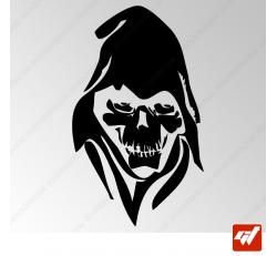 Sticker Crane La Mort Tribal 5