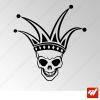 Sticker Crane Joker Tribal 9