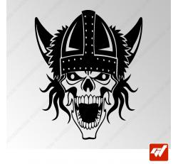 Sticker Crane Viking Tribal 11