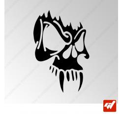 Sticker Crane Vampire Tribal 14
