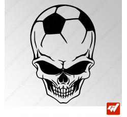 Sticker Crane Football Tribal 17
