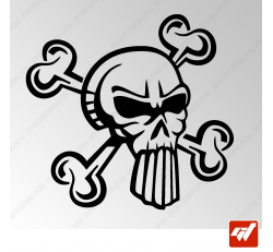 Sticker Crane Tribal 20