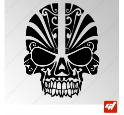 Sticker Crane Mexicain Tribal 21