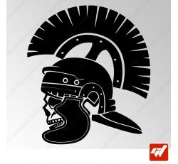 Sticker Crane Spartan Centurion Tribal 22
