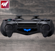 4X Stickers PS4 LIGHT BAR - Logo de Batman Batarang