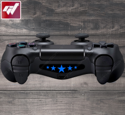 4X Stickers PS4 LIGHT BAR - Etoiles