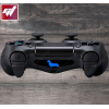 4X Stickers PS4 LIGHT BAR - Chien saucisse teckel hotdog