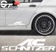 Stickers Ac Schnitzer, taille au choix