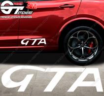 Stickers Alfa Roméo GTA, taille au choix