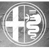 Sticker Logo Alfa Roméo