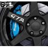 Kit 4 stickers Alfa Roméo GTA pour jantes