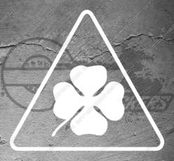 Stickers Alfa Roméo trèfle Quadrifoglio