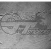 Stickers Serpent Biscione Alfa Roméo, taille au choix.
