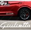 Stickers Alfa Roméo Giulietta, taille au choix