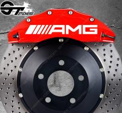 Kit Stickers AMG pour étriers de frein
