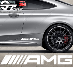 Sticker Logo AMG sur mesure.