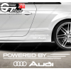 Kit 2x stickers Powered by Audi