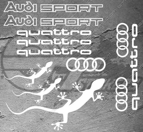 4 Stickers BMW M pour rétroviseurs