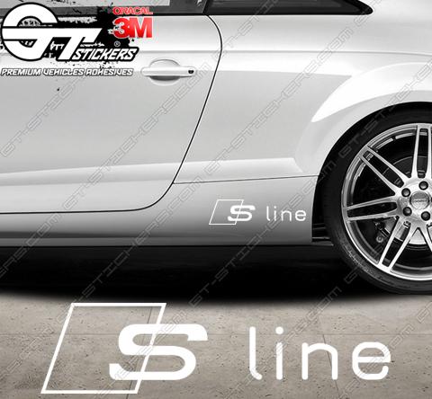 6 Stickers Audi Sport pour Jantes
