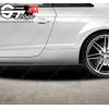 4 Stickers Audi avec logo losange