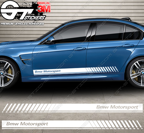 kit bandes latérales BMW Motorsport