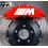 8 Stickers Citroën Racing pour étriers de frein