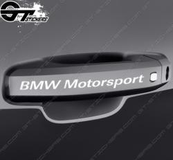 Kit stickers BMW Motorsport pour poignées de porte