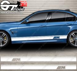 Kit bandes latérales BMW M Design