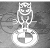 Sticker BMW Devil, taille au choix