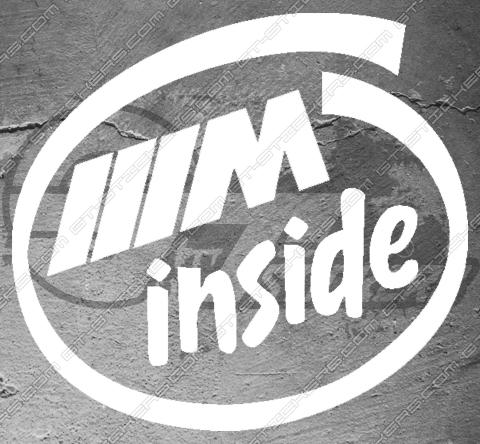Stickers BMW M Inside
