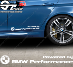 Sticker Powered by BMW Performance